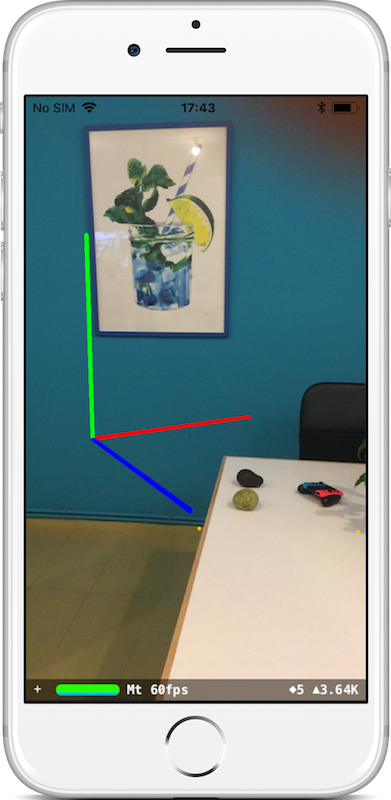 Get started and learn how to make your first ARKit application