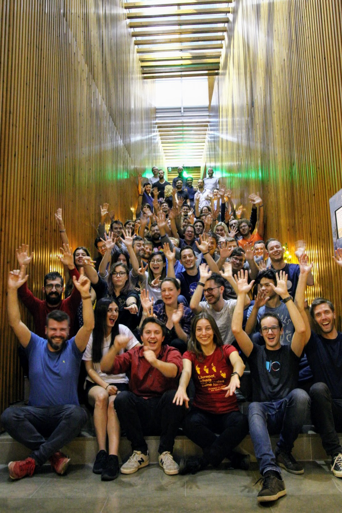 The Novoda team! — photo courtesy of Daniele Bonaldo