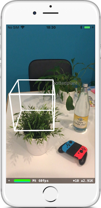 Making AR more precise with CoreML