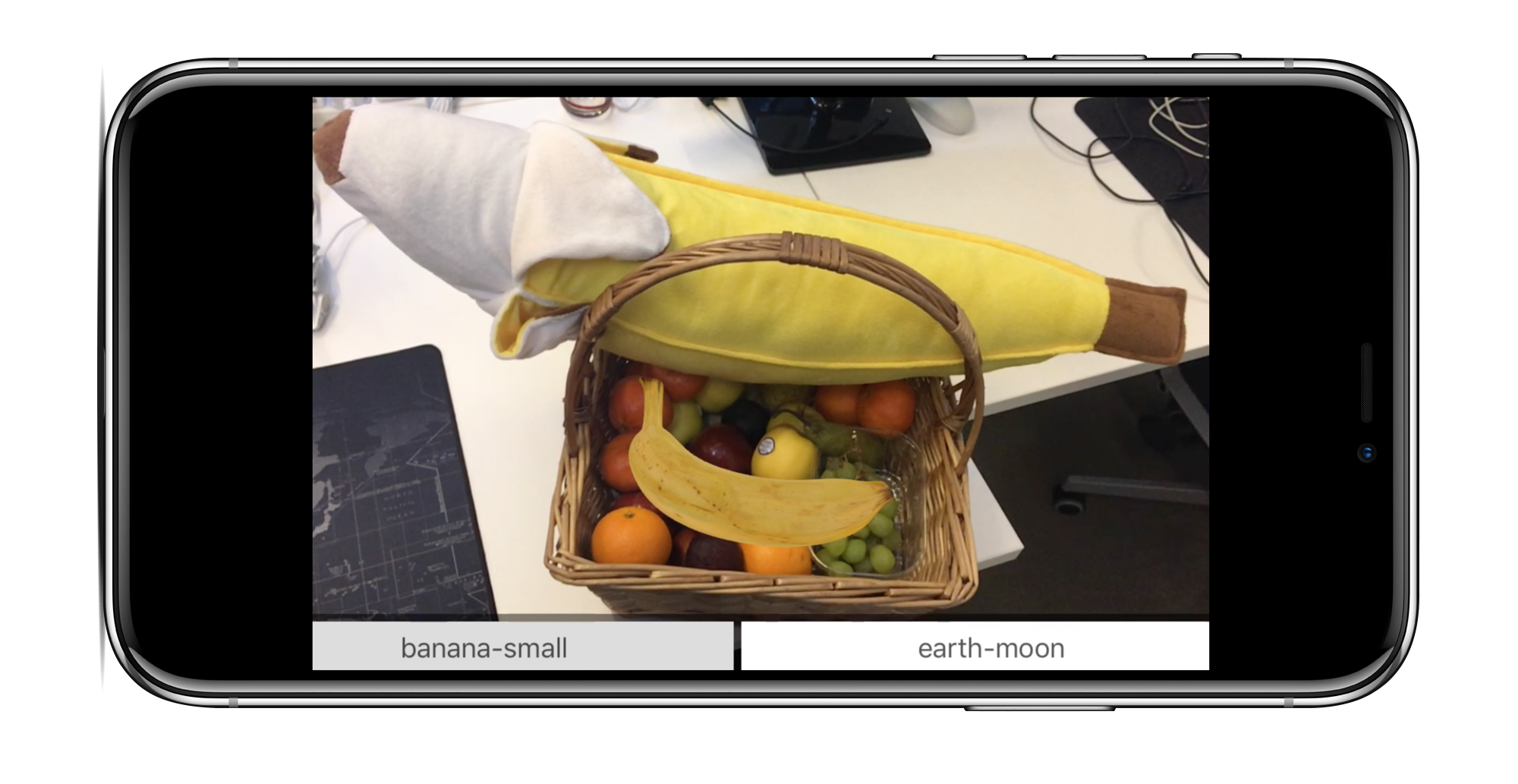 Bananas in a basket