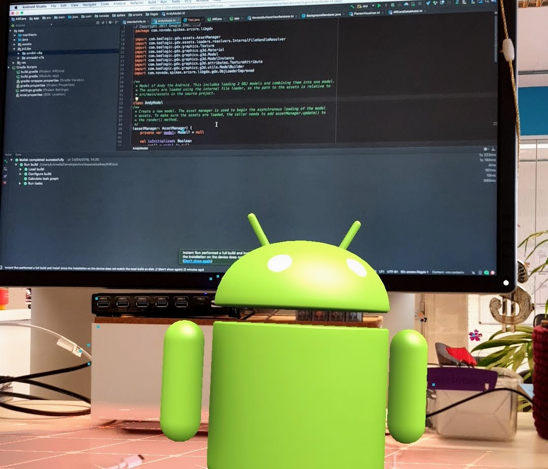 Getting started with Google ARCore on Android