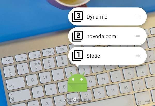 Exploring Android Nougat 7.1 App Shortcuts