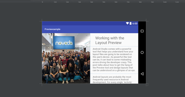 Working with the Layout Preview
